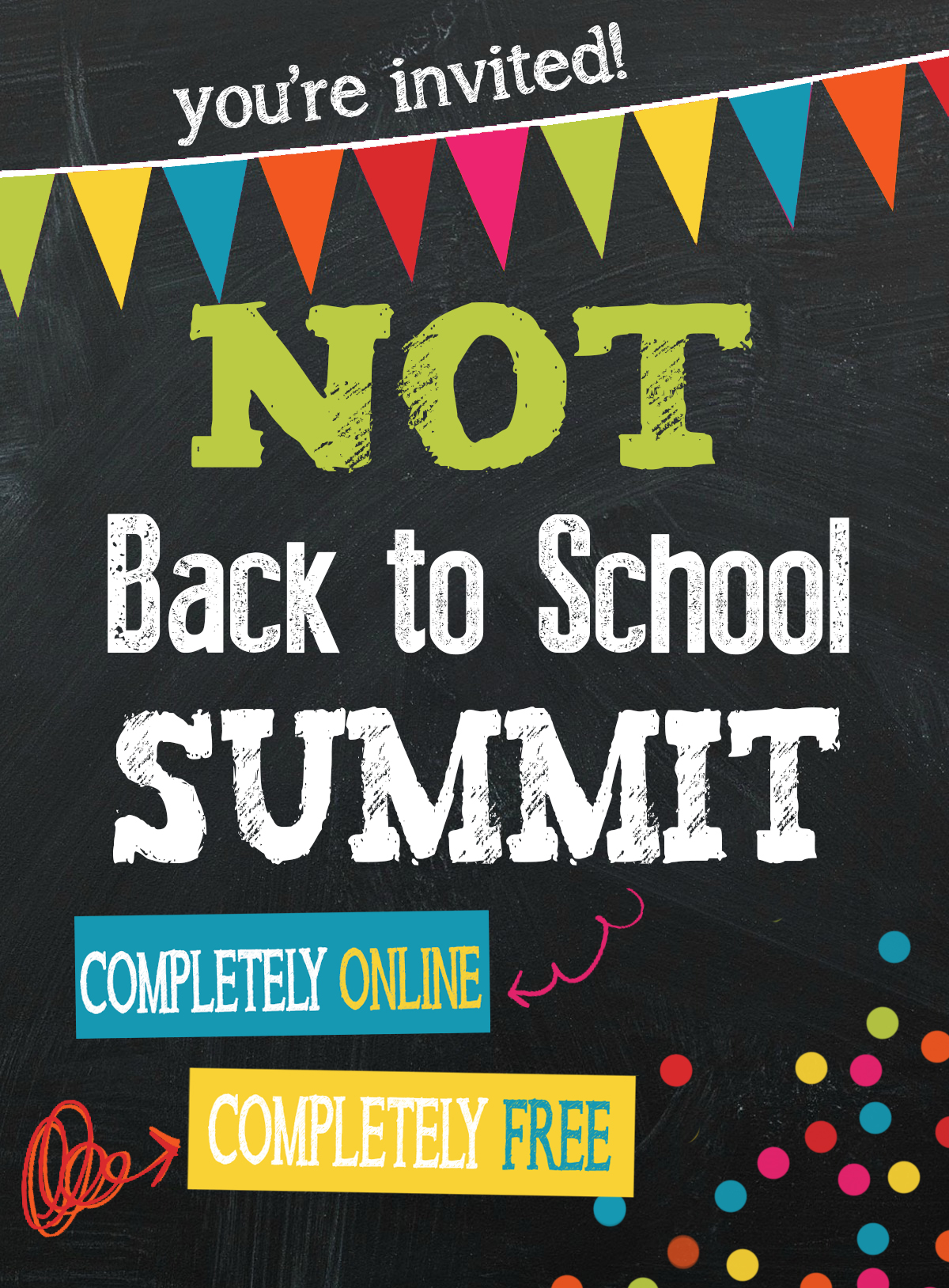 Not Back to School Summit